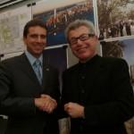 con Daniel Libeskind a New York