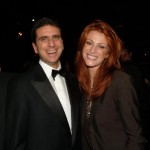 a New York con Angie Everhart