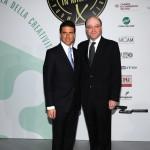 con Massimo Corsaro