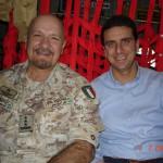 con il Generale Mauro Del Vecchio