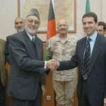 con il Sindaco di Kabul