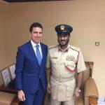 Abdullah Al Ghiti il Capo del Dipartimento sicurezza ed emergenze della Polizia di Dubai