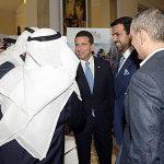 """Cerimonia inaugurale del primo """"Free Travelers' Awards"""" con HE Abdalla Al Shamsi, Console Generale degli Emirati Arabi Uniti a Milano e Ayman Al Afifi, imprenditore di Abu Dhabi"""