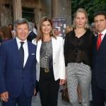 con Ezio Simonelli, la moglie Silvia e Ludmila Voronkina