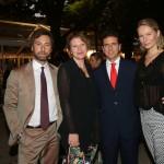 con Liviano Sjnopoli, Alessia Berlusconi e Ludmila Voronkina