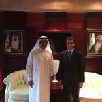 con HE Al Matrooshi - Ambasciatore EAU a Cuba