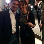 Con Alessandra Moschillo