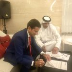 firma agreement con Mohammed bin Ebraheem Al Mahmood