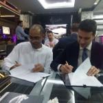firma accordo con partner omanita