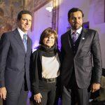 Con Lidia Cardinale e Abdalla Al Shamsi Console degli Emirati Arabi Uniti a Milano