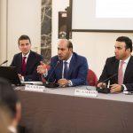 con H.E. Saqr Nasser Alraisi, Ambasciatore degli EAU in Italia e Major General Dr. Ahmed Al Raisi, Altissimo Ufficiale del Ministero dell'Interno degli EAU
