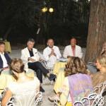 Versilia di Moda - briefing pre-sfilata con Gianluca Lo Vetro e Stefano Dominella