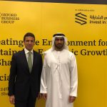con Mohammed al Musharrkh, Ceo of Invest in Sharjah