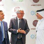con HE Khaled Al Huraimel alla MoU Signature Ceremony