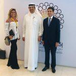 con Marika De Vita e Najeeb Al Ari, Executive Director Expo 2020
