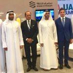 con HE Marwan Al Sarkal e Mohd Almusharrak al Business Summit di Dubai