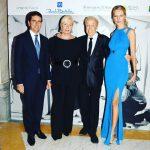 con Renato Balestra alla Villa Reale di Monza