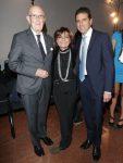 con Mario Boselli e Lidia Cardinale