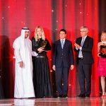 con Liborio Stellino, Ebraheem Al Mahmood, Chicca Lualdi e Inga Savits