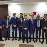 la delegazione di Ambienthesis in visita da BRS Ventures