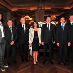 con Christian Estrosi, Valerie Hoffenberg, Mario Boselli e Guglielmo Miani