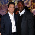 con Clarence Seedorf