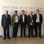 Con lo Sceicco Awad Mohammad Bin Mejren, Gabriele Albertini e il Generale Mauro Del Vecchio