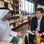 con HE Marwan Al Serkal chairman di Shurooq