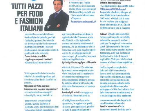 Tutti pazzi per food e fashion italiani