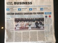 20.09.17 - The Gulf Today Business - Sharjah FDI Forum 2017