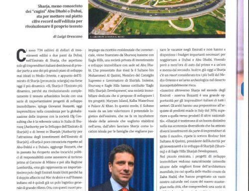 L'Emirato seduto su una montagna di denaro cerca partner italiani