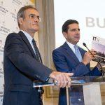 Con Sergio Luciano presentando il magazine IT'S