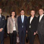 con Gabriele Albertini e Claudia Bucellati