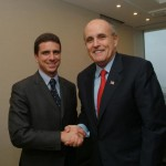 Con il Sindaco Giuliani di New York