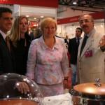 con Ludmilla Putin Macef a Mosca