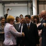 con Ludmilla Putin - a Mosca