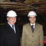 con il direttore del teatro Bolshoi