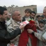 distribuzione di alimenti ed indumenti alla popolazione afghana