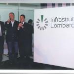 con Roberto Formigoni e Raffaele Cattaeneo