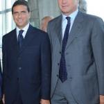 con Sergio Dompè