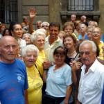 con il gruppo di partecipanti di Vacanze a Milano