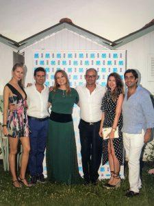 with Paolo Ligresti, President of Bambi.ni, Geronimo La Russa e le rispettive mogli