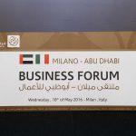 """Milano - Abu Dhabi Business Forum"" manifesto"
