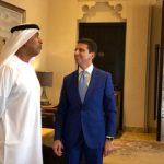 con HE Gen. Obaid Al Ketbi ambasciatore Emirati in Australia