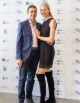 con Ludmilla Voronkina al Free Travelers Awards
