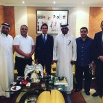 meeting with Khalid Omar Al Midfa Chairman Shams Sharjah Media City Free Zone