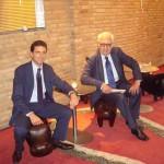 Con Piergiacomo Ferrari - presidente di Expo Venice