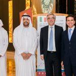 """con HE Ambasciatore italiano e HE Vicepresidente della Camera di Commercio di Abu Dhabi - """"Abu Dhabi - Milano"""" business forum"""