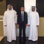 con Mohammed Al Musharrakh - Invest in Sharjah
