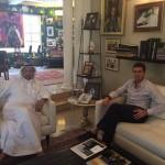 con Rashid Al Habtoor